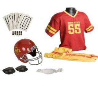 Iowa State Cyclones Football Deluxe Uniform Set   Size