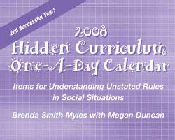 Hidden Curriculum 2008 Calendar