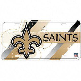 New Orleans Saints License Plate Aluminum Street Flair