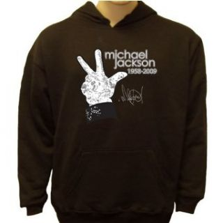 Michael Jackson Glove Memorial Sweatshirt, Small, Black