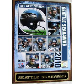 2010 Seattle Seahawks Photo Plaque