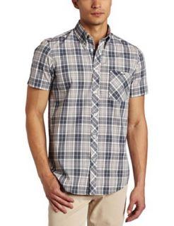 Ben Sherman Mens Short Sleeve Heritage Check Woven Shirt