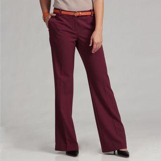 Calvin Klein Womens Lux Stretch Bowery Pants FINAL SALE
