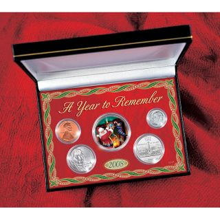 American Coin Treasures 2008 Holiday Year to Remember Coin Collection
