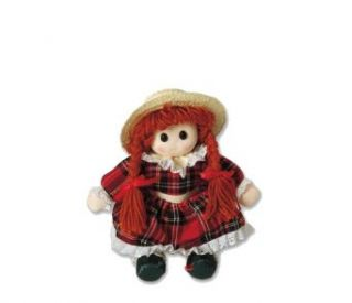 Amy Rag Doll Sitting With Hat Clothing