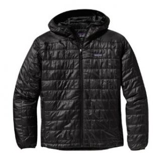 Patagonia Nano Puff Hoody Jacket Mens SMALL BLACK 155