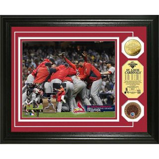 Highland Mint St. Louis Cardinals 2011 NL Champs Infield Dirt and Coin