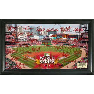 Highland Mint 2011 World Series St. Louis Cardinals Field Signature