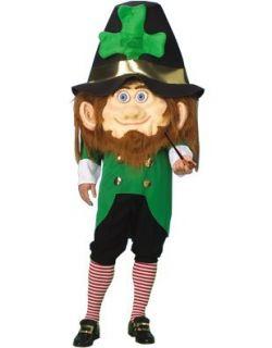 Mens 42 44 Leprechaun St Patricks Day Mascot Costume