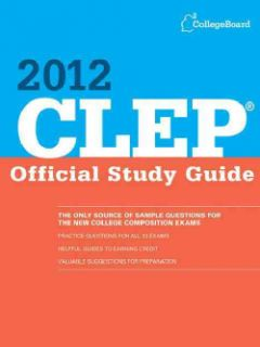 Clep Official Study Guide 2012 (Paperback)