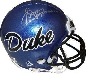 Sonny Jurgensen Autographed/Hand Signed Duke Blue Devils