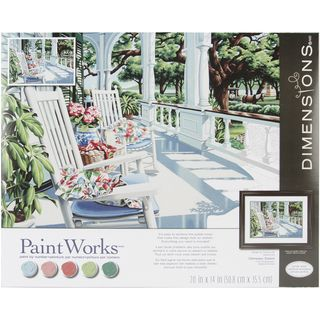 Paint By Number Kit 14X20 Veranda