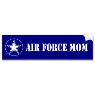 Air Force Mom Bumper Sticker
