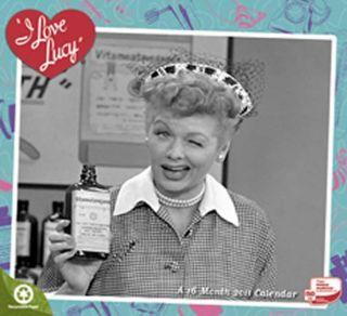 love Lucy 2011 Wall Calendar