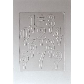 Paderno Number 2.25 inch Chocolate Mold