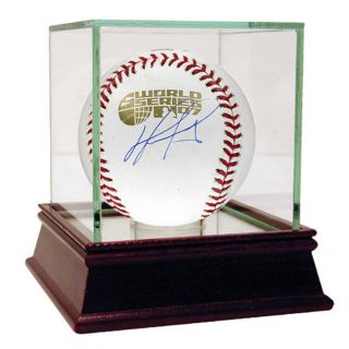 David Ortiz 2007 World Series Autographed Baseball