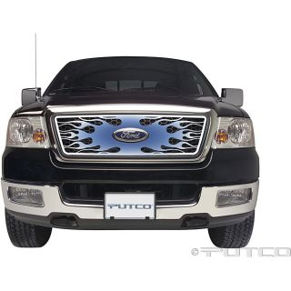 Toyota Tundra Flaming 2007 08 Inferno Stainless Grill