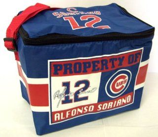 Alfonso Soriano Chicago Cubs Lunch Bag 6 Pack Zipper