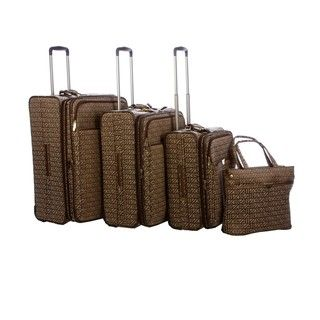 Anne Klein Cruise Control 4 piece Luggage Set