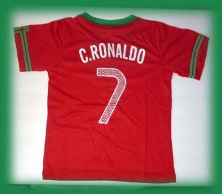 NEW PORTUGAL CRISTIANO RONALDO 7 FOOTBALL SOCCER KIDS
