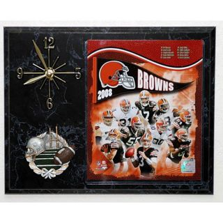 2008 Cleveland Browns Picture Clock