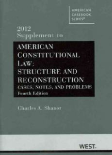 American Constitutional Law, 2012 (Paperback)