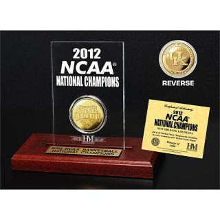 University of Kentucky 2012 NCAA National Champions Gold Coin Etched