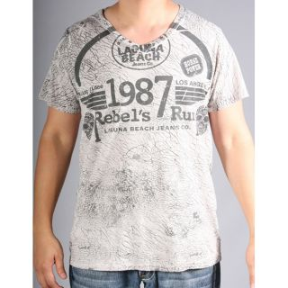 Laguna Beach Jean Co Mens Corona Del Mar Beach Graphic Tee Today $