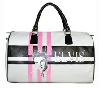 Licensed Elvis Presley Weekender, White Elvis Presley