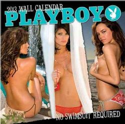 Playboy  No Swimsuit 2013 Calendar (Calendar)