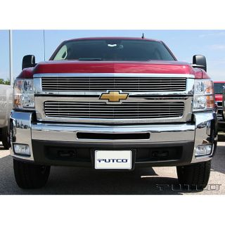 Chevy Silverado LD 2007 2008 Boss Shadow Billet Grille