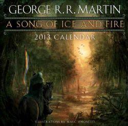Song of Ice and Fire 2013 Calendar(Calendar)
