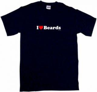 I Heart (Love) Beards Kids T Shirt In 5 Colors 2T thru