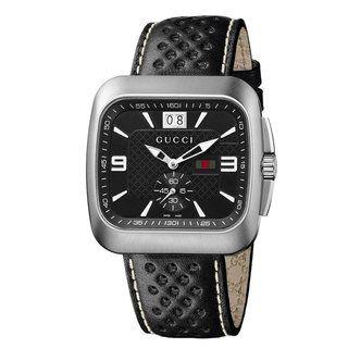 Gucci Mens Coupe Black Dial Quartz Watch