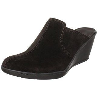 Etienne Aigner Womens Laisha Clog,Chocolate,8.5 M US Shoes