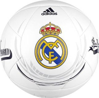 Adidas REAL MADRID White/Noble Ink (5): Sports & Outdoors