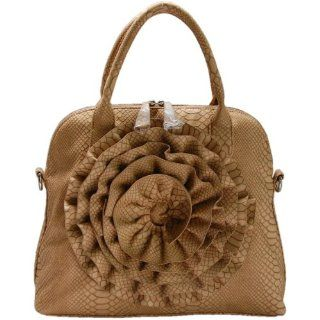 Beige Rose Handbag by FASH Clothing