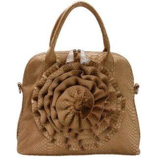 Beige Rose Handbag by FASH Clothing