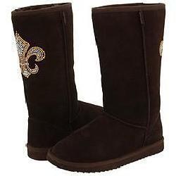 Steve Madden Powered Embellished Brown Suede Boots