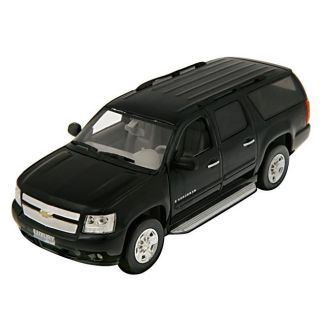 Chevrolet Suburban Black 2010 Scale Model Car