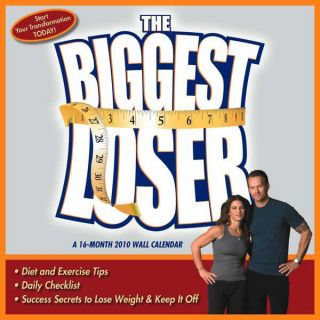 Biggest Loser 2010 Calendar