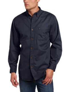 Carhartt Mens Big Tall Hines Solid Long Sleeve Shirt