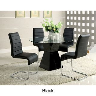 Enitial Lab Athena 5 piece High Gloss Dining Set