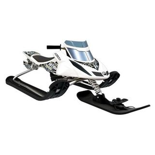 Snow Moto Ski Doo White Sled