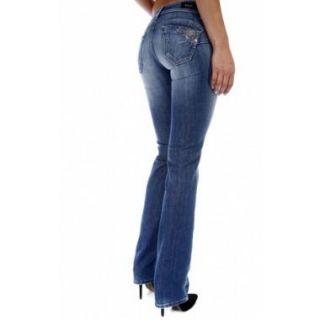 Jean Salsa Jeans Wonder Straight Cbc nc Longu 34 coul Bleu