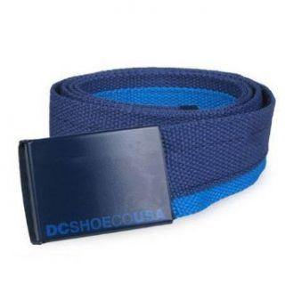 DC Shoes Tagg Team Adjustable Belt Blue One Size Clothing
