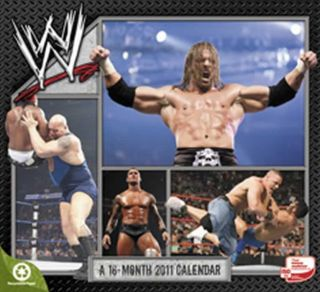 WWE Superstars 2011 Wall Calendar