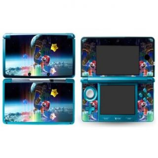 MARIO GALAXY B Design Nintendo 3D 3DS Vinyl Skin Decal
