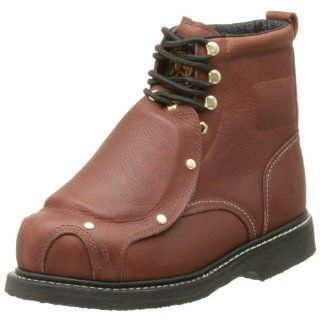 com Western Chief Mens Met Guard 140 6 Work Boot,Briar,12 E Shoes