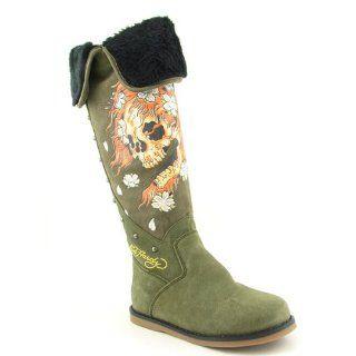 Snowblazer Womens SZ 5 Green Military Boots Snow Winter Shoes Shoes